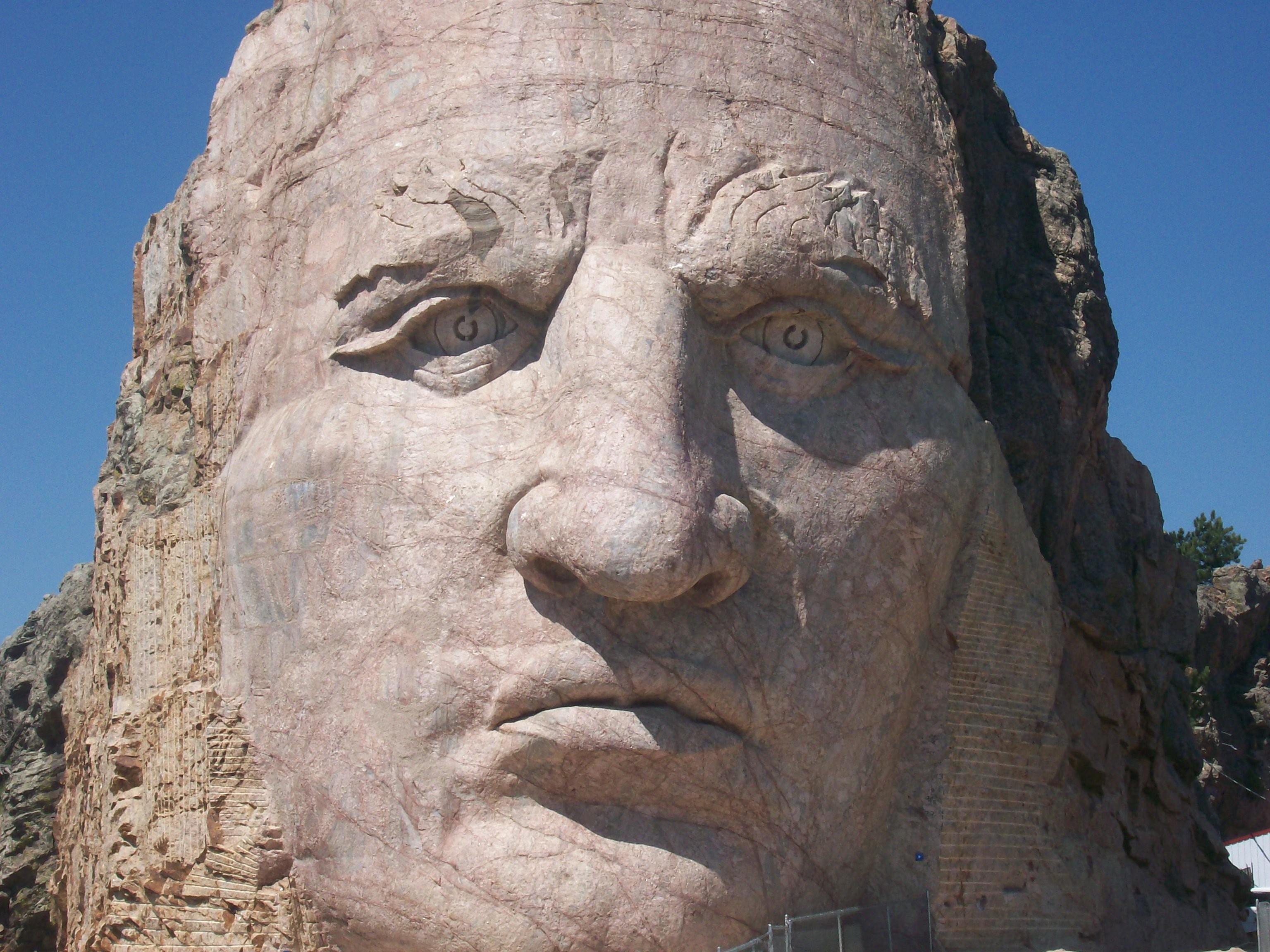 crazy horse memorial monument  crazy horse memorial